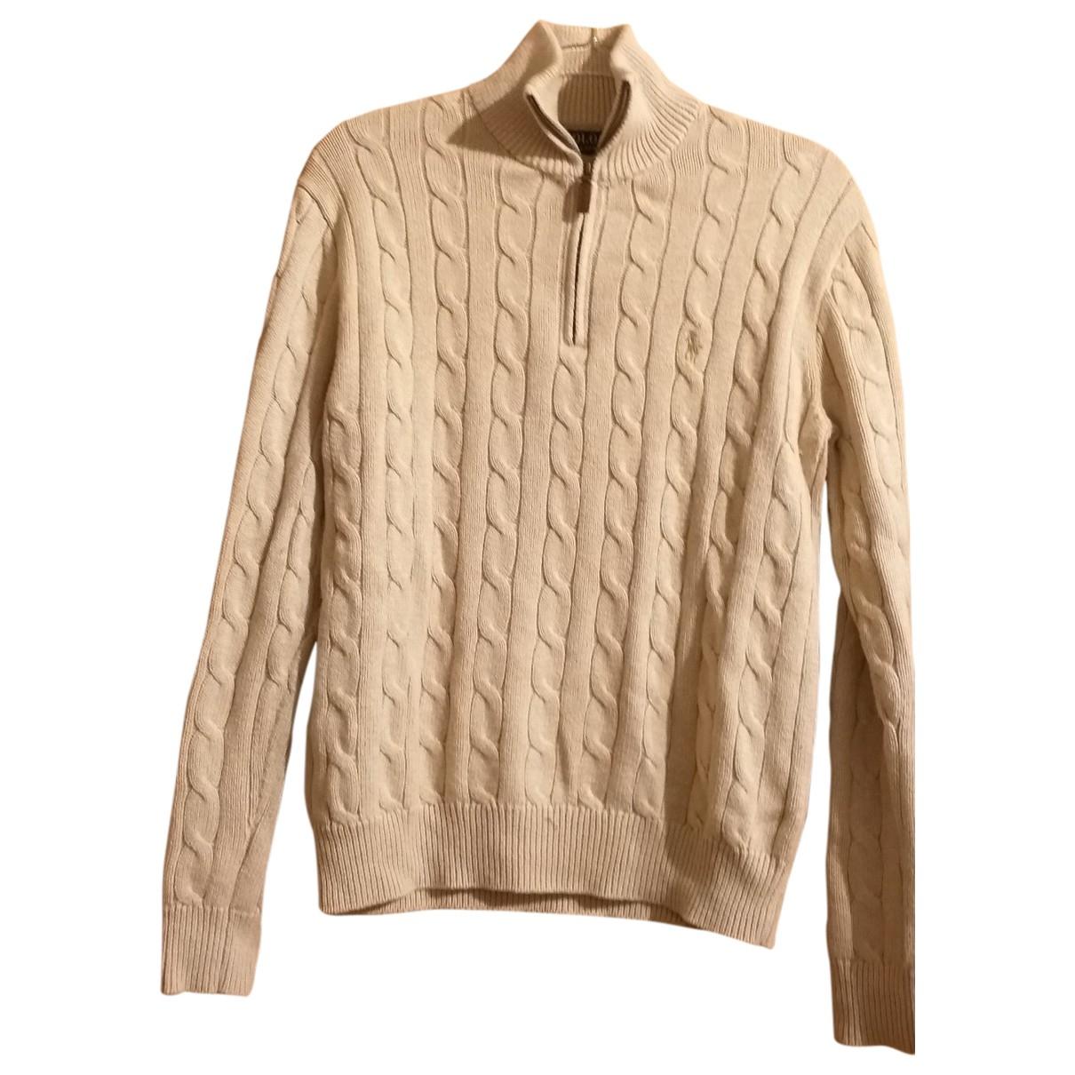 Polo Ralph Lauren \N Beige Cotton Knitwear for Women XS International