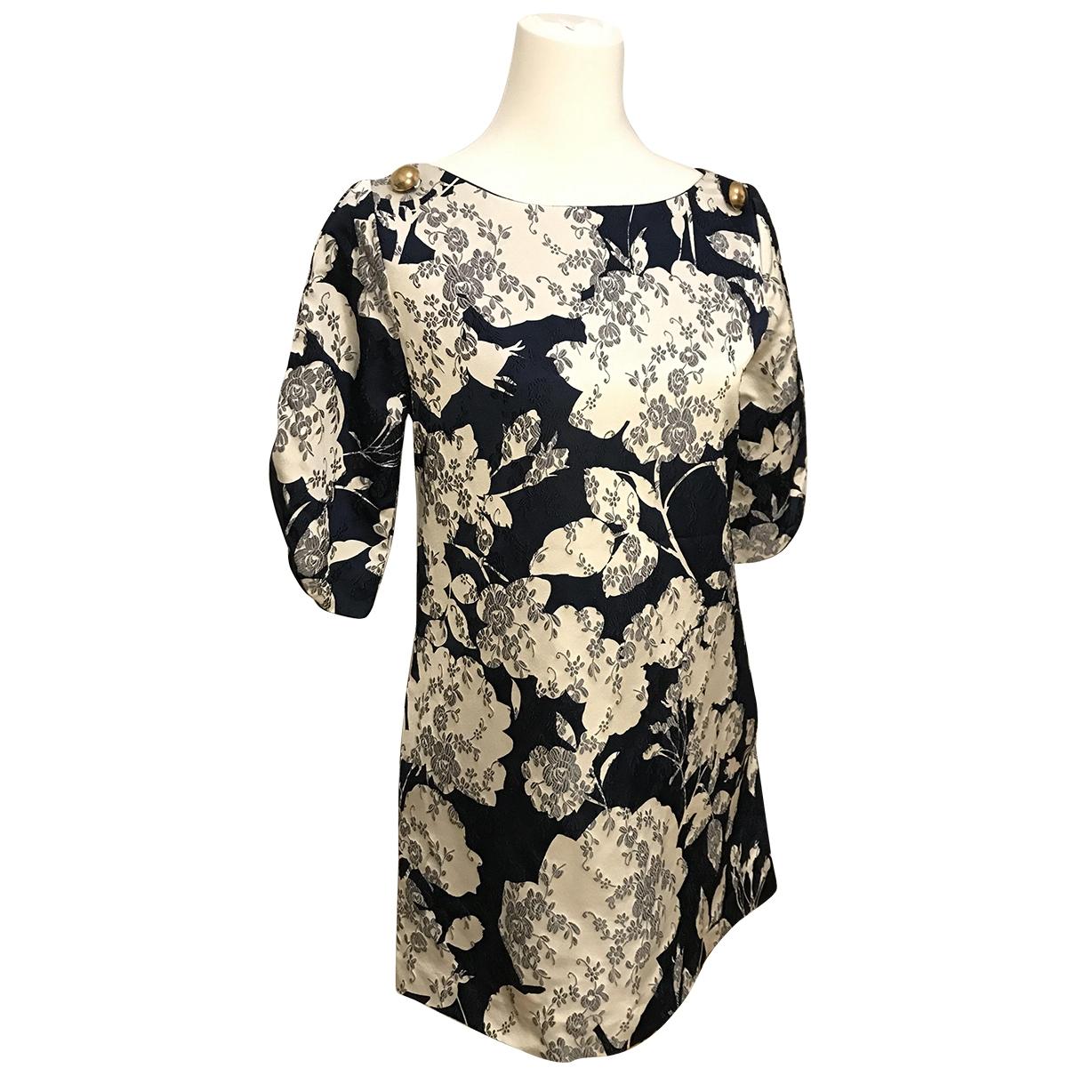 Paul & Joe \N Blue Silk dress for Women 38 FR