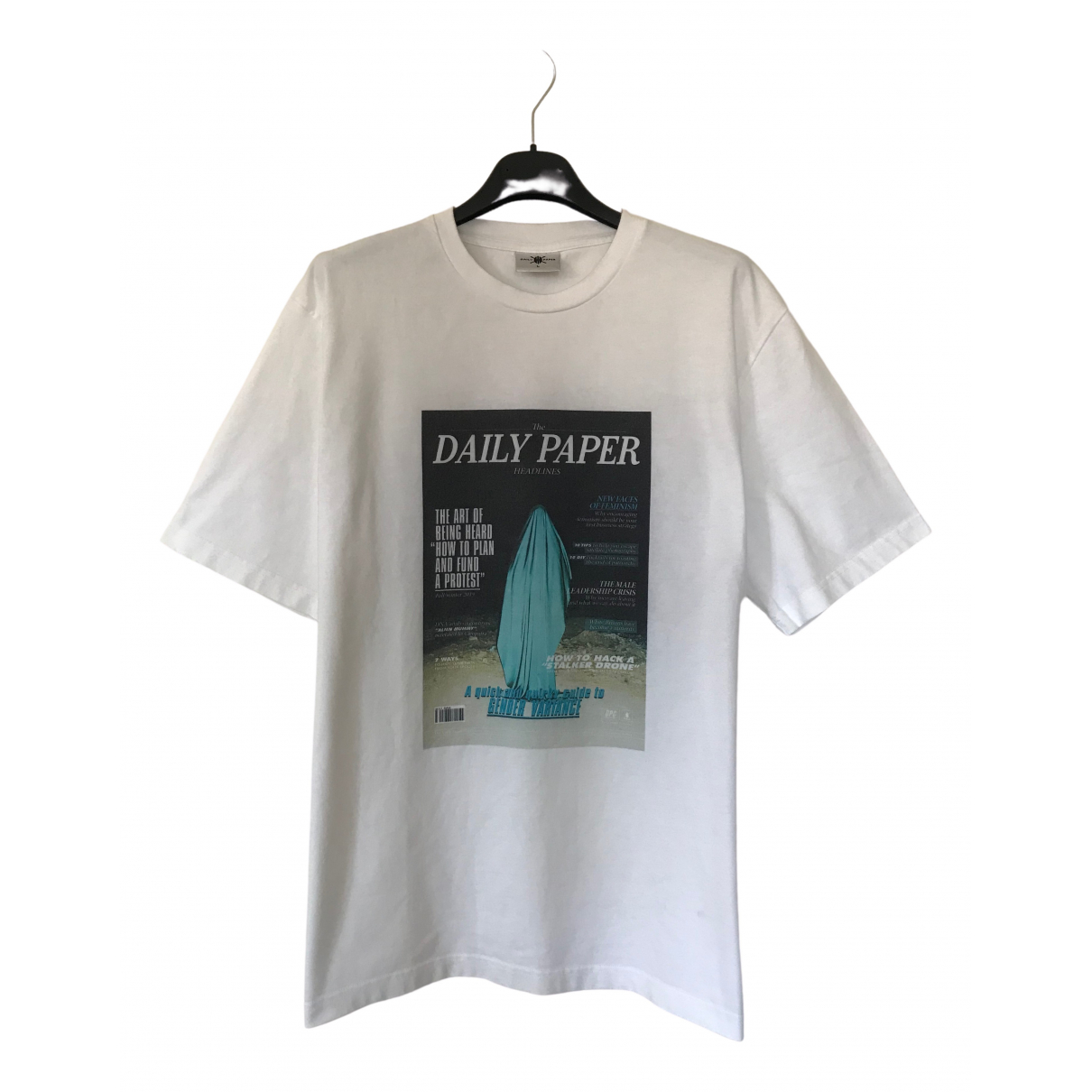 Daily Paper \N White Cotton T-shirts for Men L International