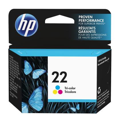HP 22 C9352AN cartouche d'encre originale tri-couleur