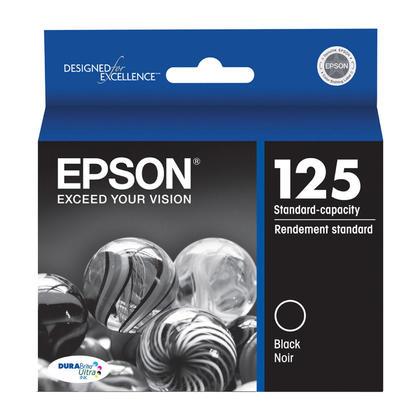 Epson 125 T125120 cartouche d'encre originale noire