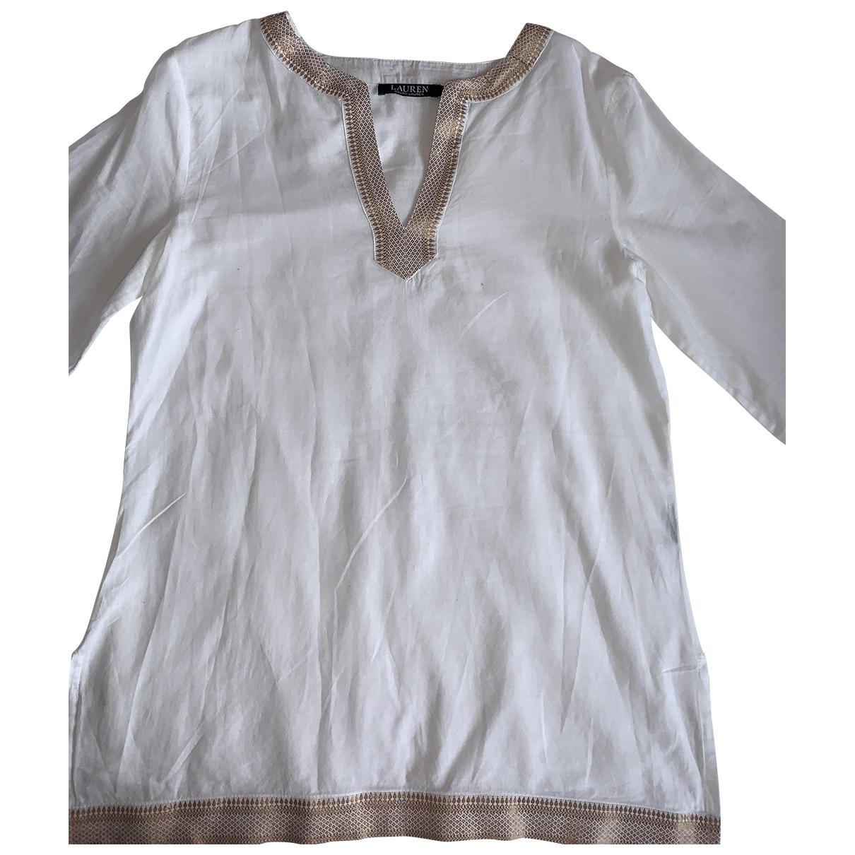 Lauren Ralph Lauren \N White Linen  top for Women XS International