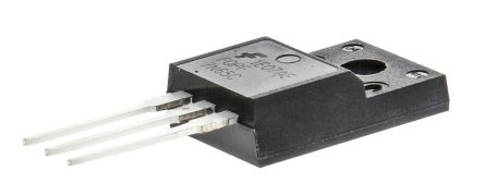 ON Semiconductor N-Channel MOSFET, 7 A, 650 V, 3-Pin TO-220F  FQPF7N65C (5)