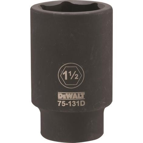 DeWalt 3/4 Drive X 1-1/2 6PT Deep Impact Socket