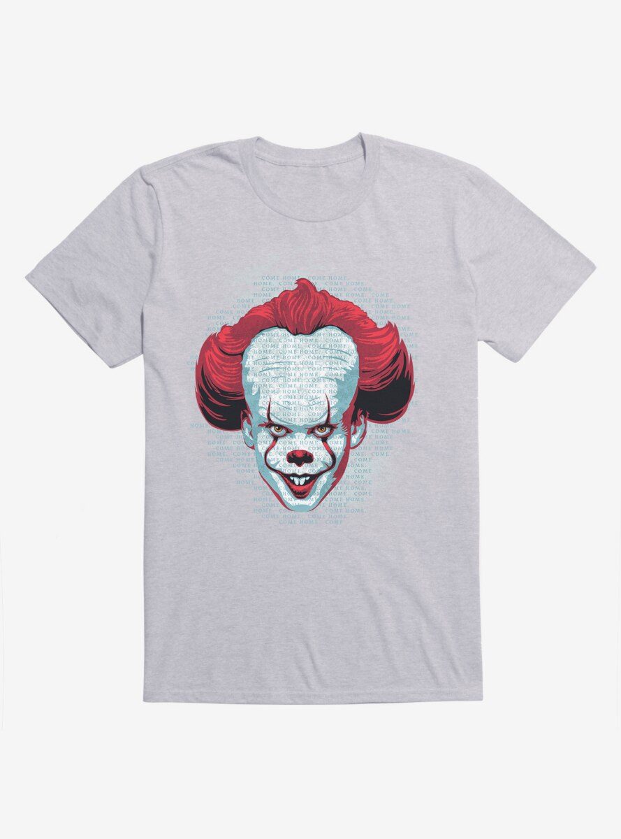 IT Chapter Two Pennywise Come Home Script T-Shirt