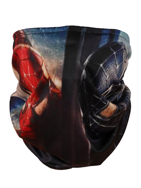 Milanoo Seamless Face Cover Spiderman Mouth Mask Bandana Neck Gaiter