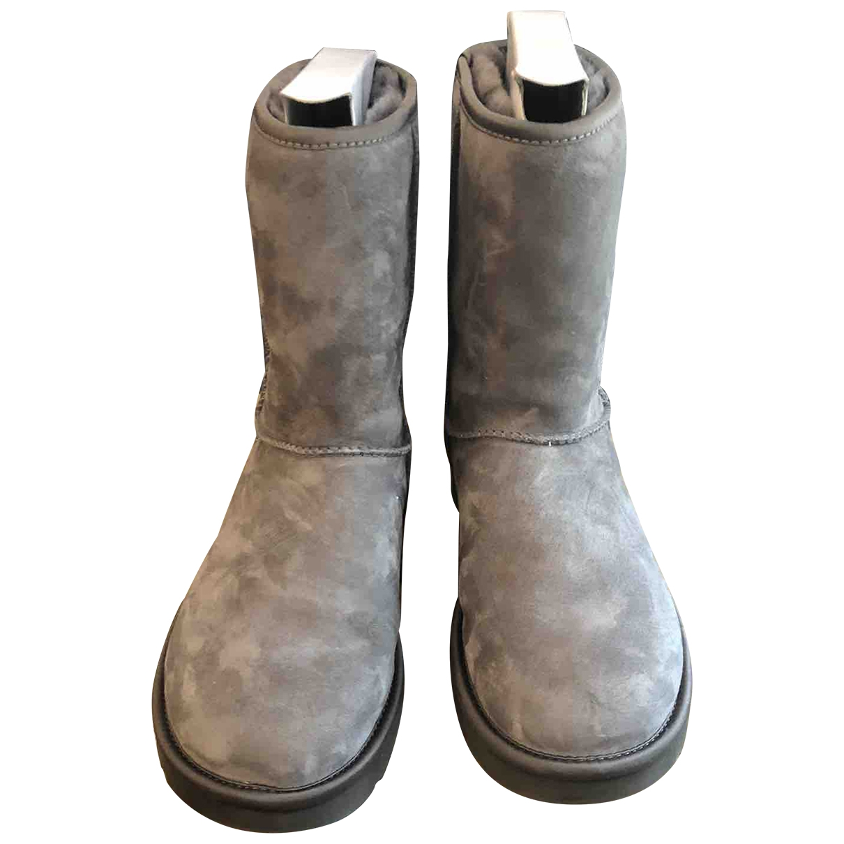 Ugg \N Grey Suede Ankle boots for Women 39 EU