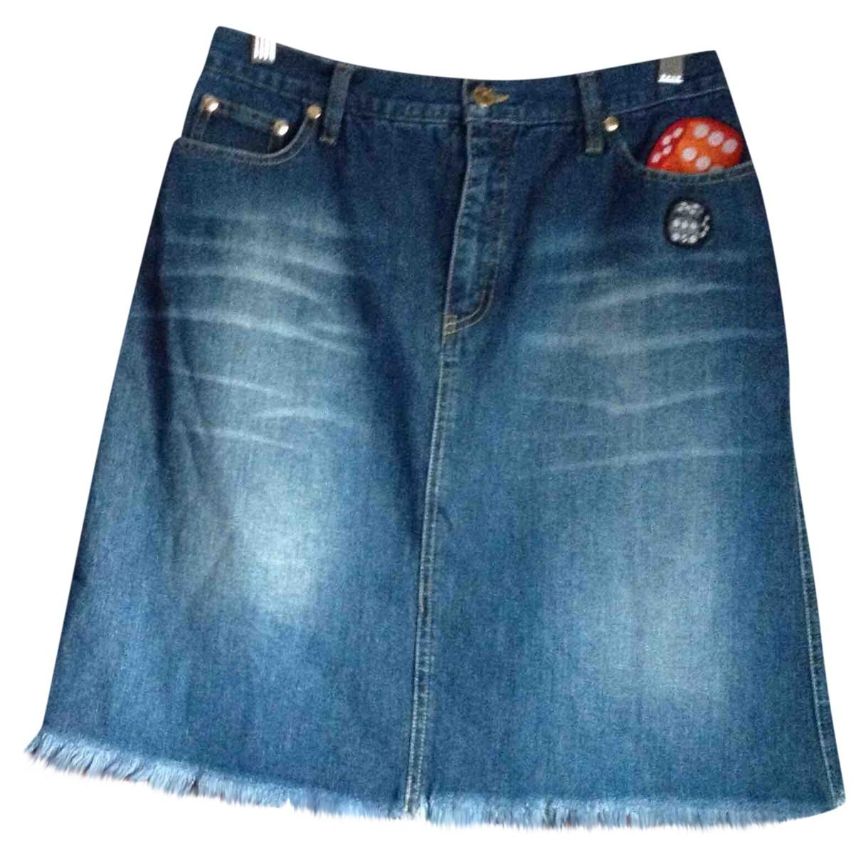 See By Chloé \N Blue Denim - Jeans skirt for Women 40 FR