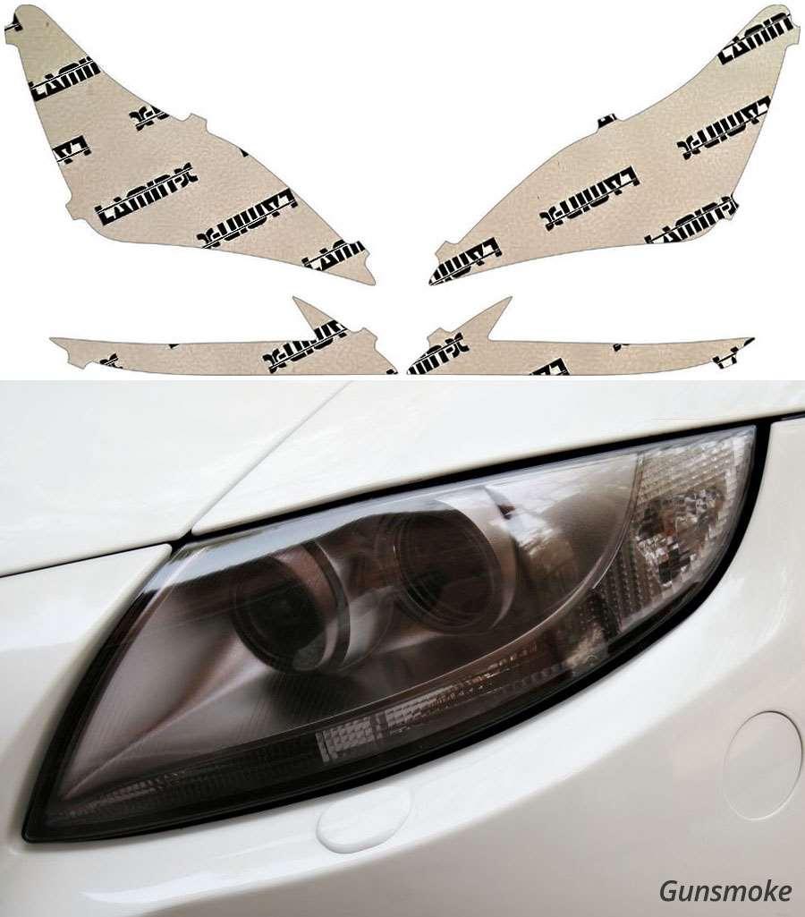Lexus RC Coupe 15-18 Gunsmoke Headlight Covers Lamin-X L028G