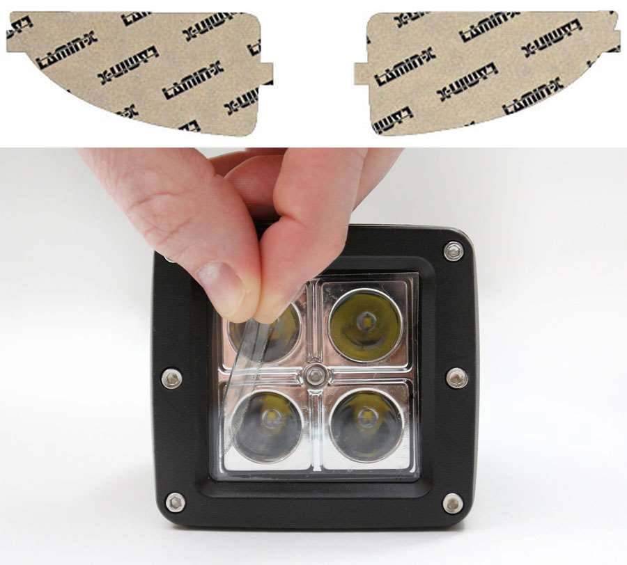 Ford Focus 00-04 Clear Fog Light Covers Lamin-X F101CL