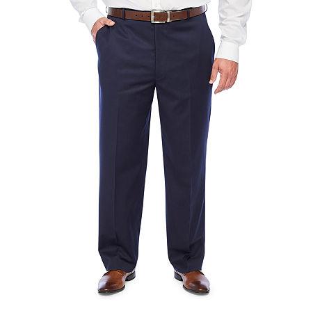Stafford Super Suit Mens Classic Fit Suit Pants, 36 30, Blue