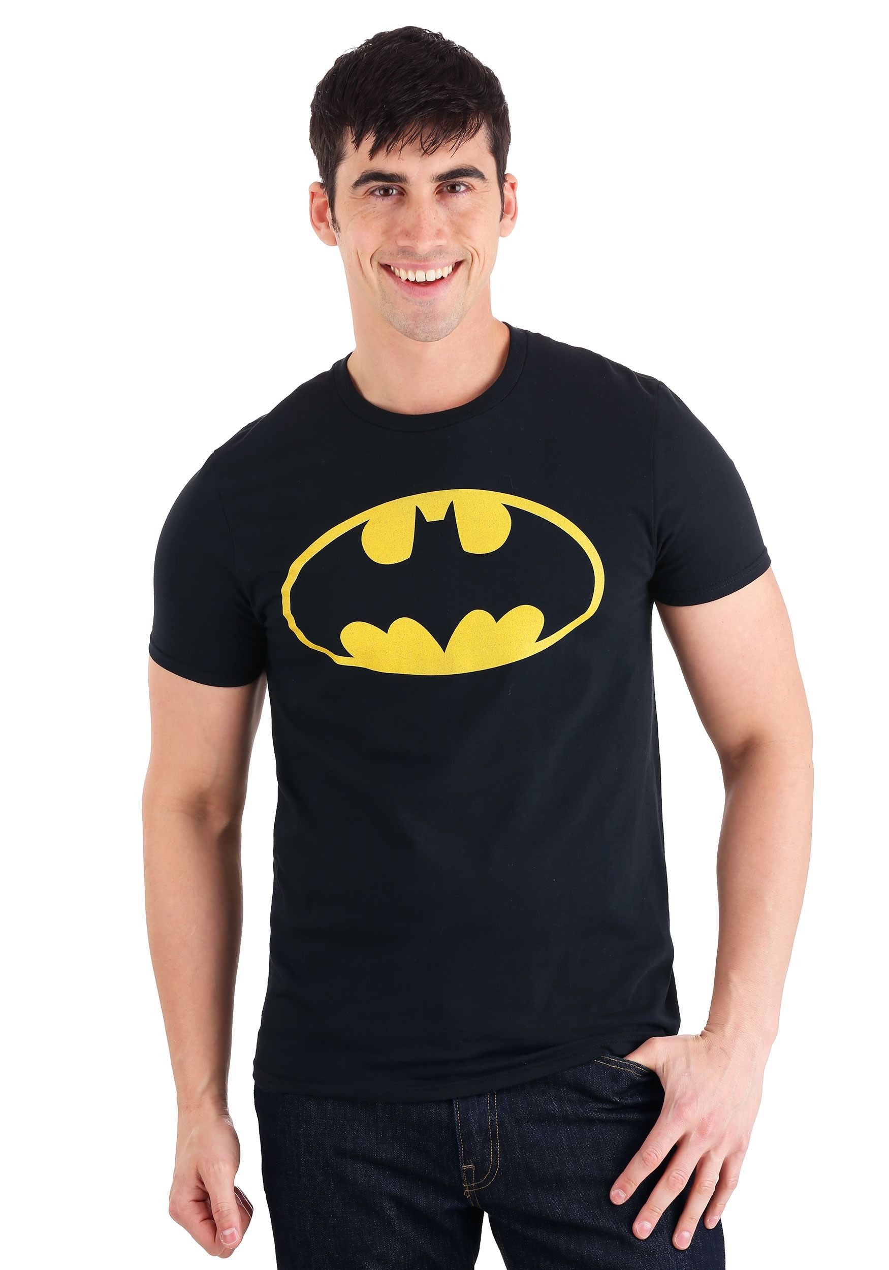 Batman Logo Black Men's T-Shirt