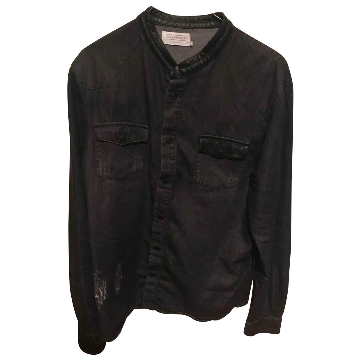 Eleven Paris \N Grey Denim - Jeans Shirts for Men L International