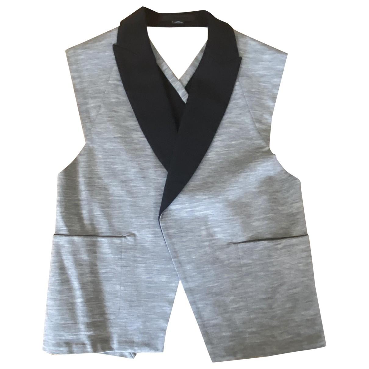 Alexander Wang \N Grey Cotton jacket for Women 6 US