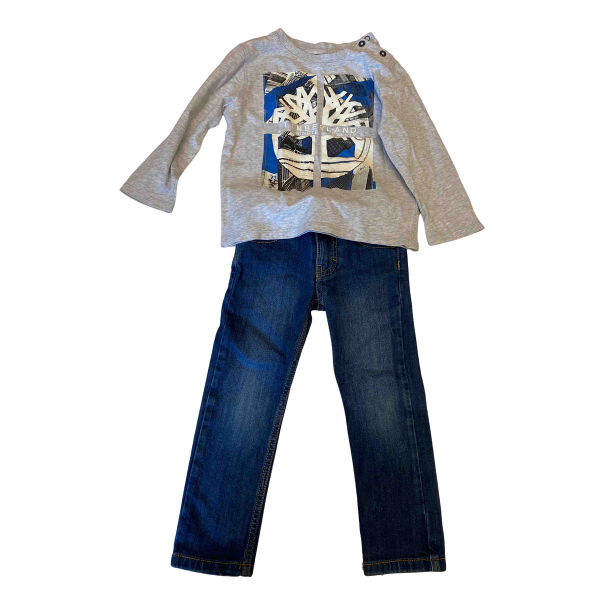 Timberland \N Grey Cotton Outfits for Kids 4 years - up to 102cm FR