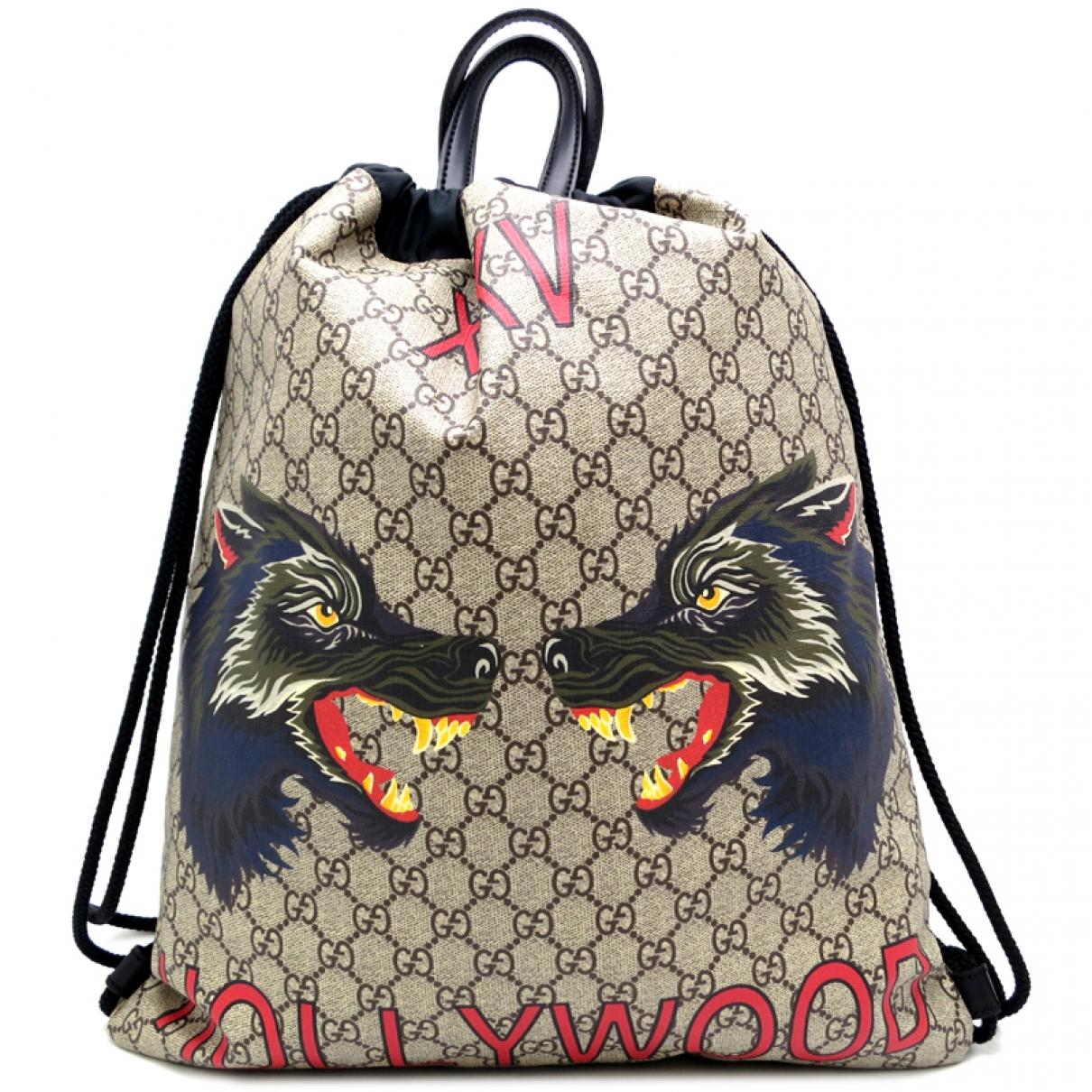 Gucci \N Multicolour Cloth bag for Men \N