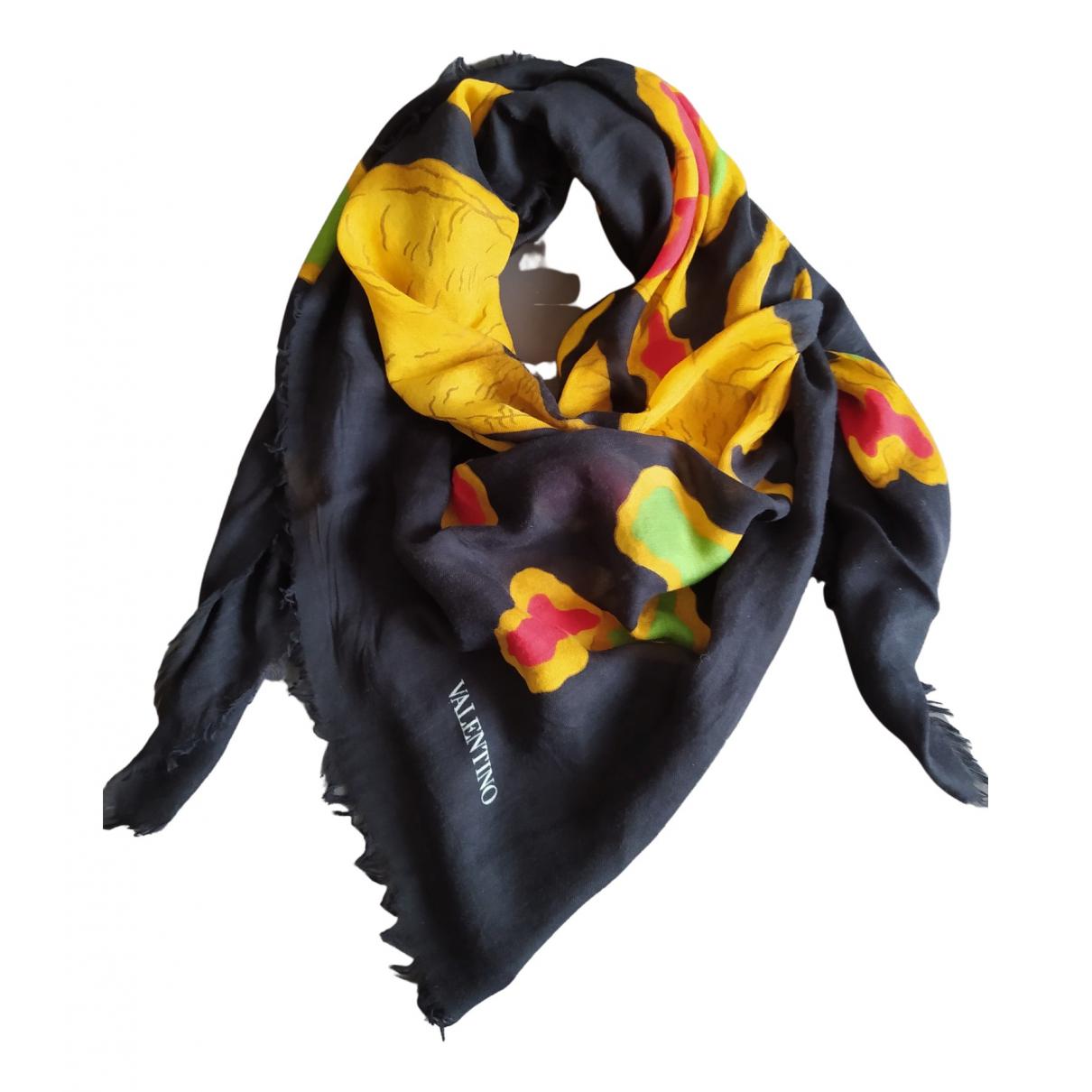 Valentino Garavani \N Black scarf for Women \N