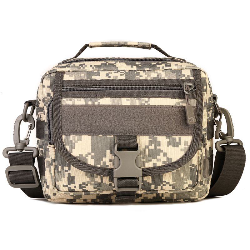 Camo Waterproof Small MOLLE Outdoor Military Shoulder Bag Men' s Backpack