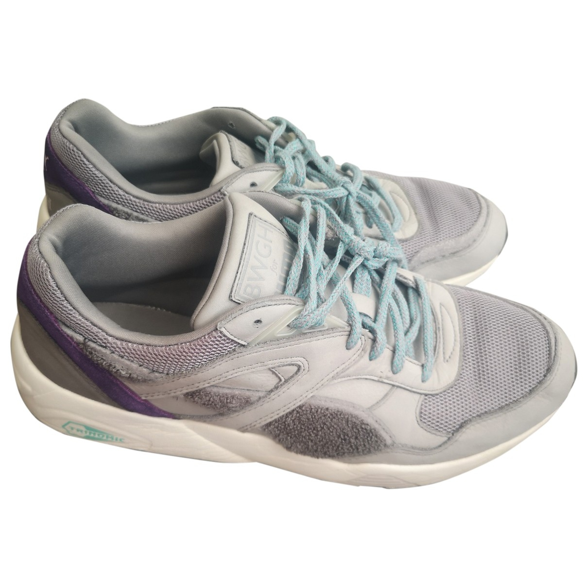 Puma \N Grey Suede Trainers for Men 9 UK