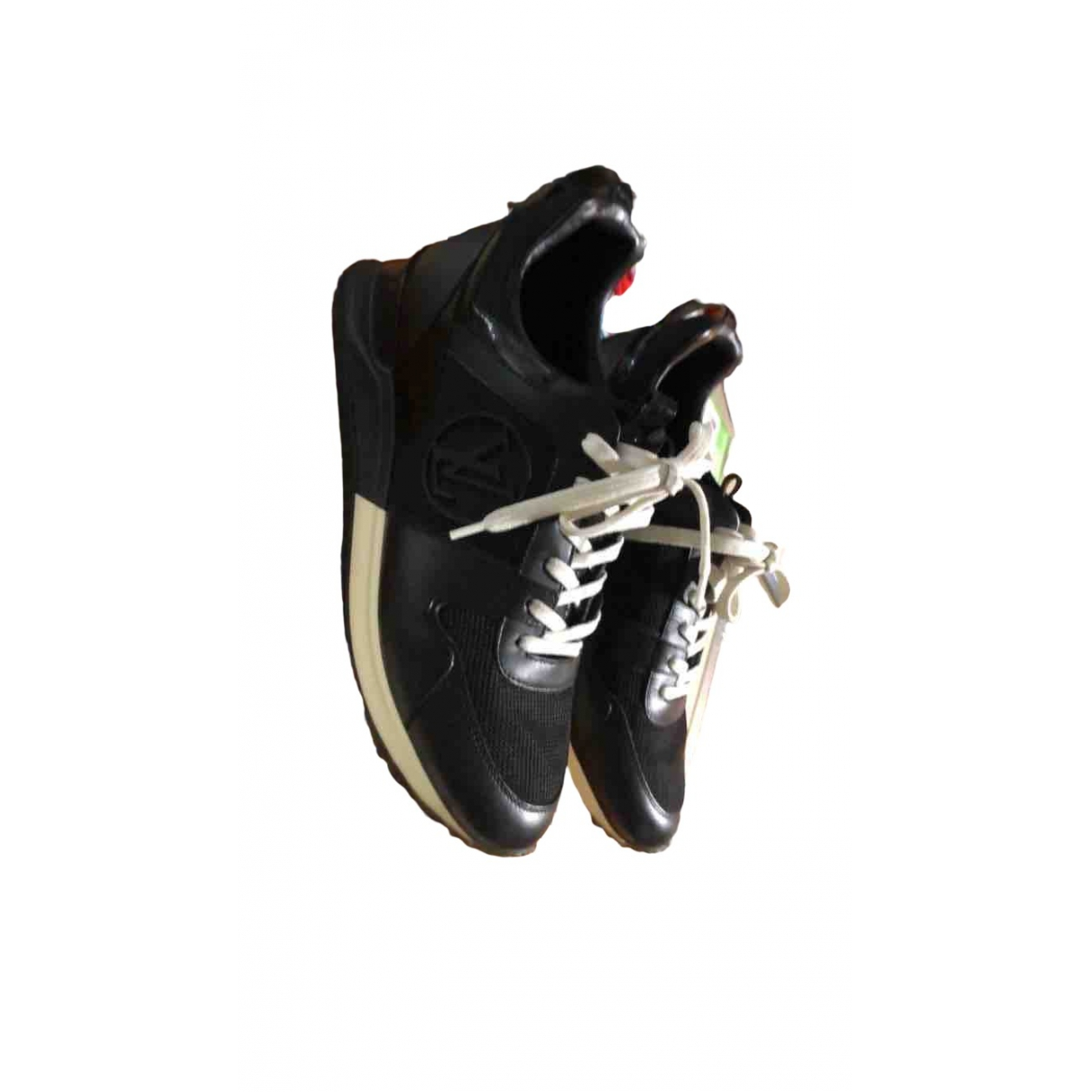 Louis Vuitton Run Away Black Leather Trainers for Women 36.5 EU