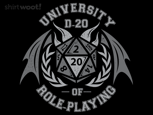 University Of Roleplaying T Shirt