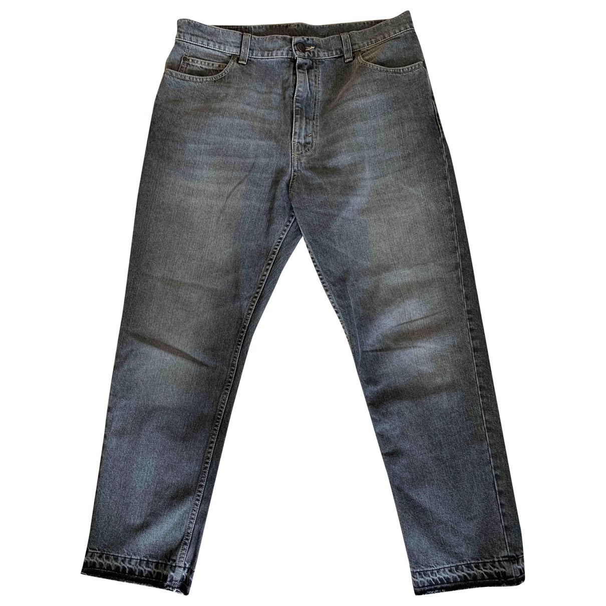 Stella Mccartney \N Grey Cotton Jeans for Men 32 US
