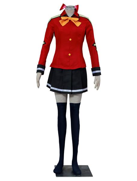 Milanoo Fairy Tail Wendy Marvell Halloween Cosplay Costume Edoras Version Halloween