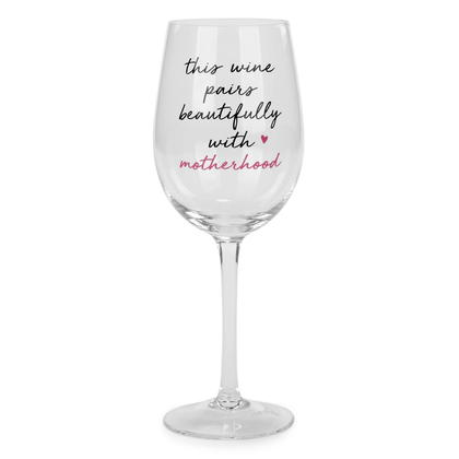 Wine glass - Motherhood 3X9