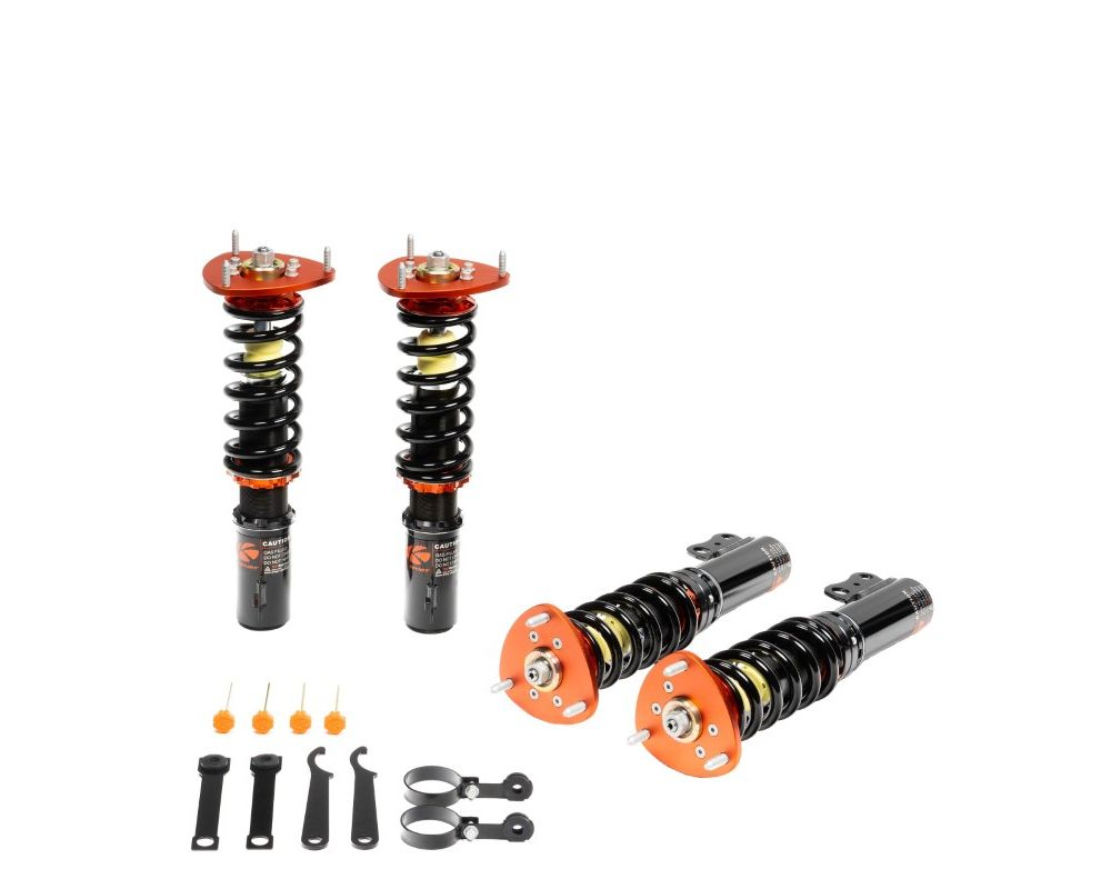 Ksport CPO060-RR Version RR Road Race Coilover Kit Porsche Cayman 2006-2012