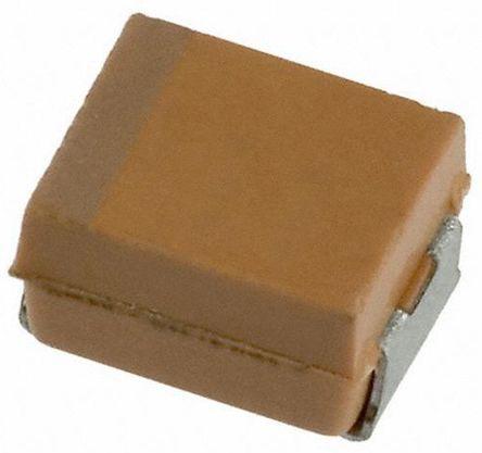 AVX Tantalum Capacitor 2.2μF 25V dc Electrolytic Solid ±10% Tolerance , TAJ (2000)