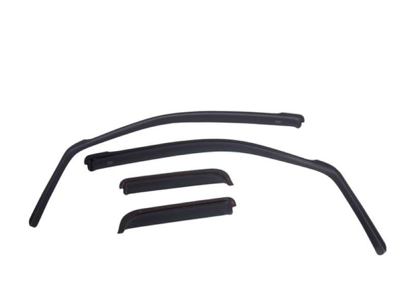 EGR 573495WB Matte Black In-Channel Style 4pc Window Visors Ford F-150 Crew Cab 2015-2020