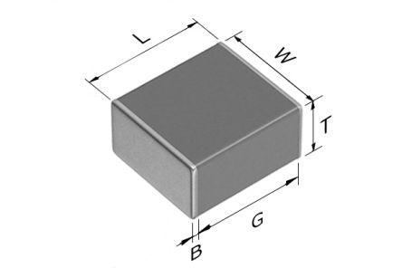 TDK 2220 (5650M) 100nF Multilayer Ceramic Capacitor MLCC 450V dc ±5% SMD C5750C0G2W104J280KA (500)