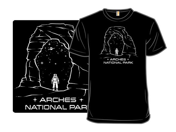 Arches Space Park T Shirt