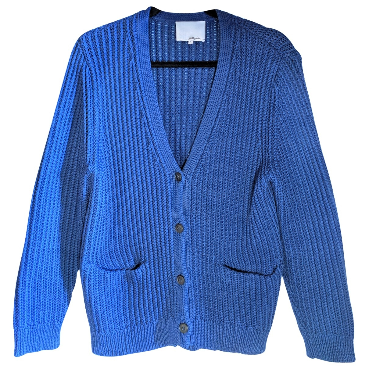 3.1 Phillip Lim \N Blue Cotton Knitwear for Women L International