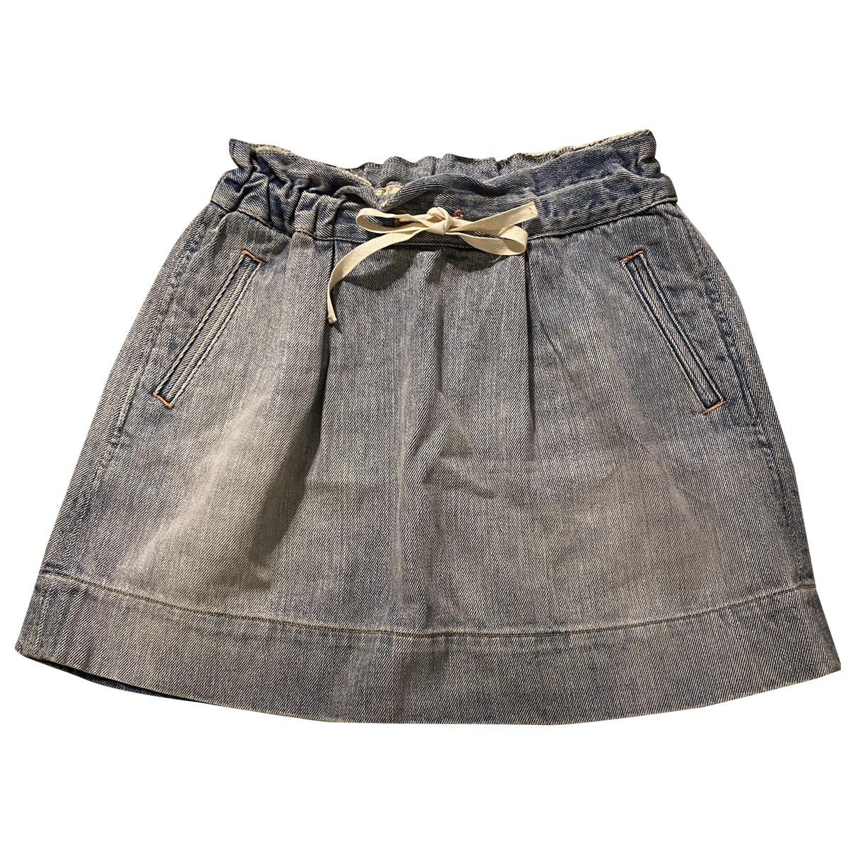 Marc By Marc Jacobs \N Blue Cotton skirt for Women 36 FR