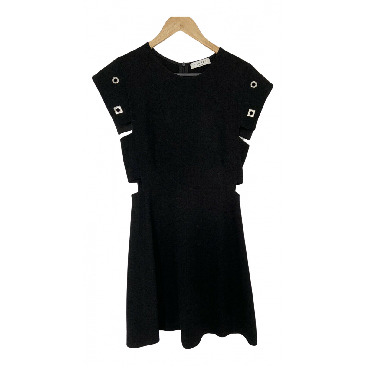 Sandro Spring Summer 2019 Black dress for Women 3 0-5