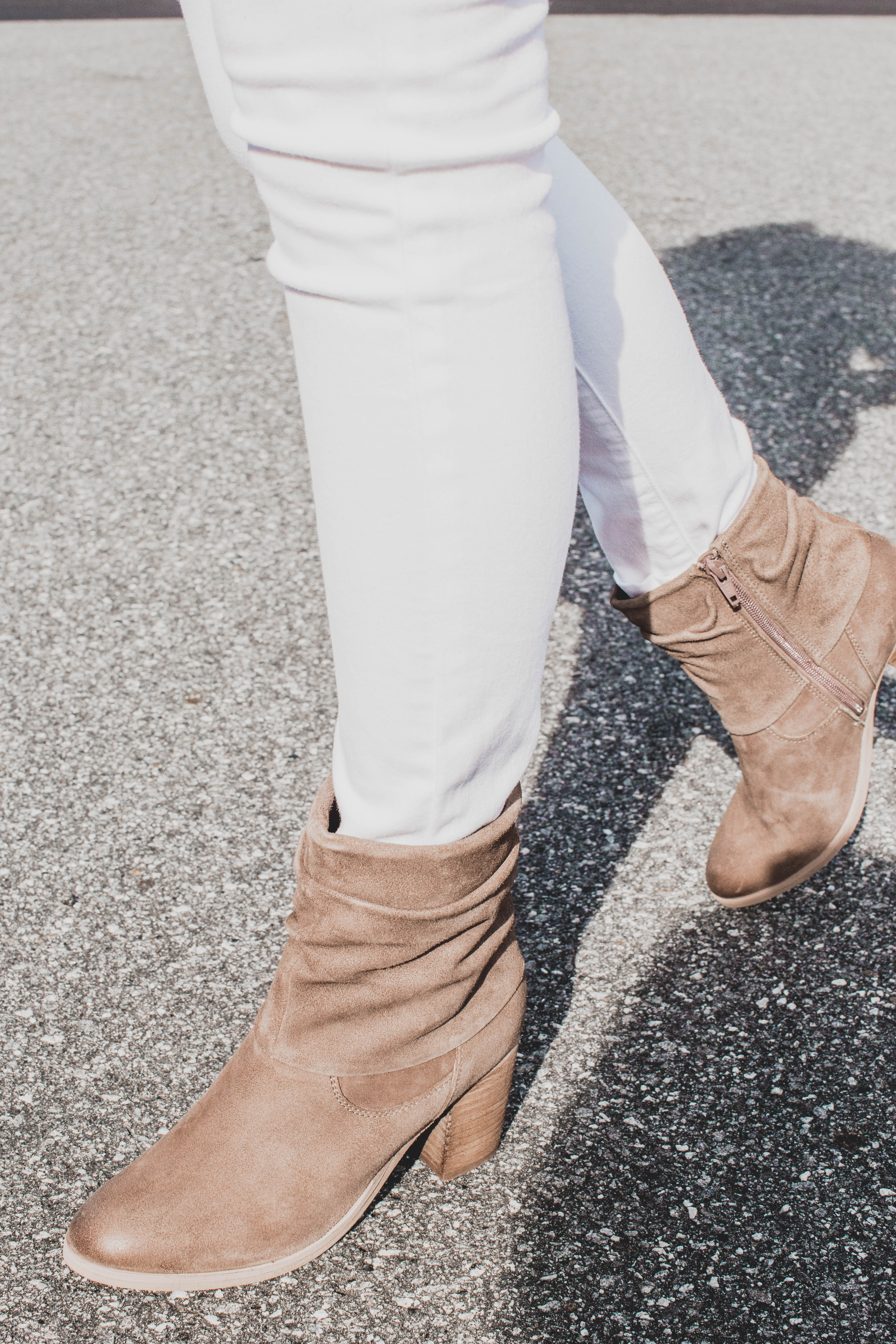 Lawson Suede Slouchy Boot Taupe | Rebels