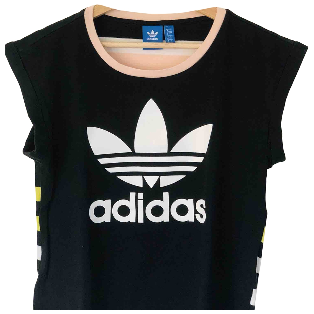 Adidas \N Black Cotton  top for Women 40 IT