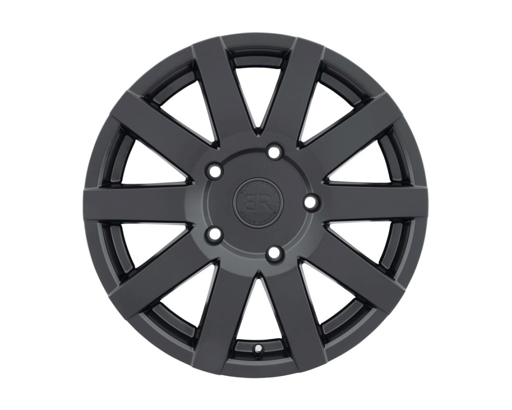 Black Rhino Journey Matte Black Wheel 18x8 5x160 48mm CB65.1