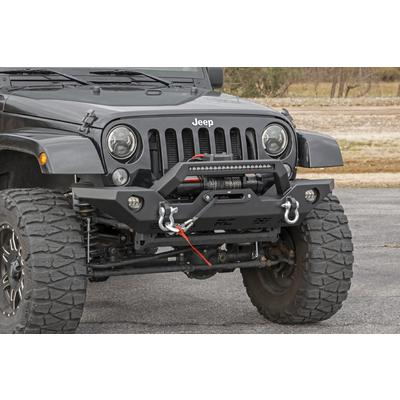 Rough Country Full Width LED Winch Front Bumper - 10596