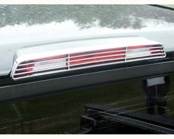 Quality Automotive Accessories ABS   Chrome Brake Light Bezel Nissan Titan 2007
