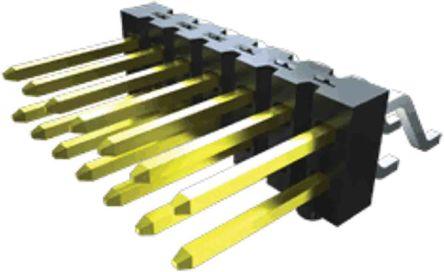 Samtec , TSM, 4 Way, 2 Row, Vertical PCB Header