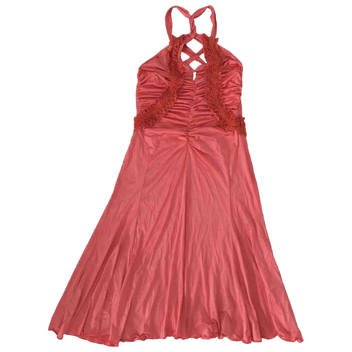 Roberto Cavalli \N Red dress for Women 36 FR