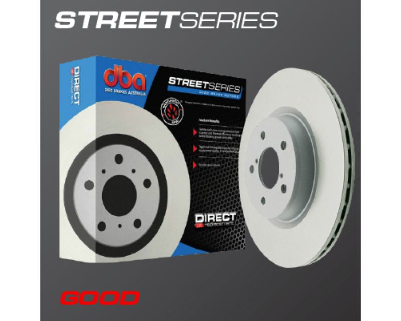DBA Rear Drilled & Slotted Street Series Rotor Lexus LX450 96-97 | Toyota Landcruiser 1992+