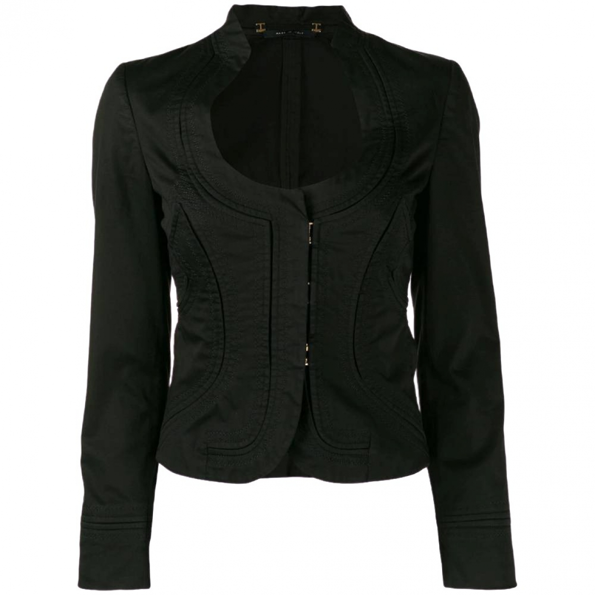 Gucci \N Black Cotton jacket for Women 40 IT