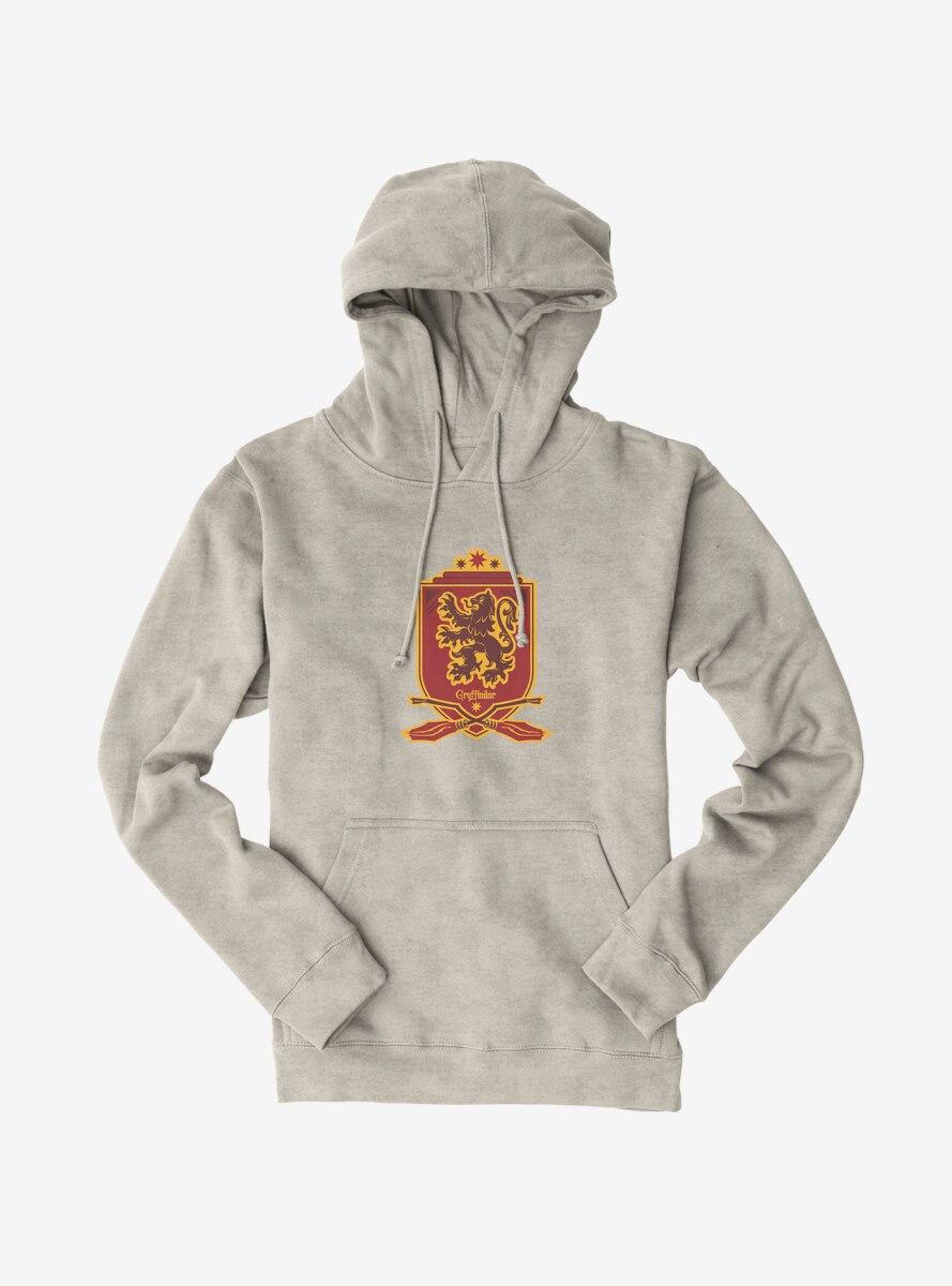 Harry Potter Gryffindor Quidditch Crest Hoodie