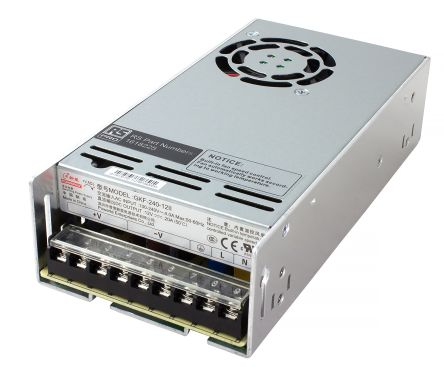 RS PRO , 240W Embedded Switch Mode Power Supply SMPS, 5V dc, Enclosed