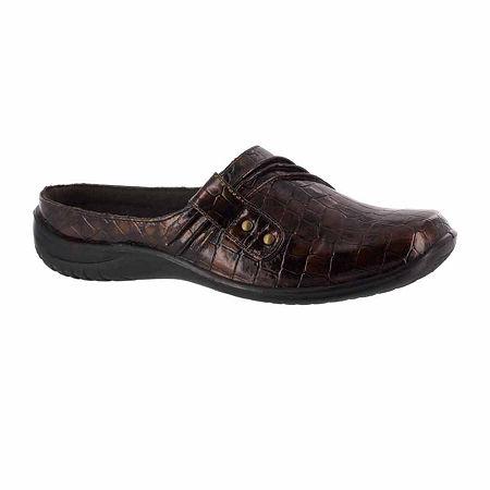 Easy Street Womens Holly Slip-On Shoe, 8 1/2 Medium, Brown