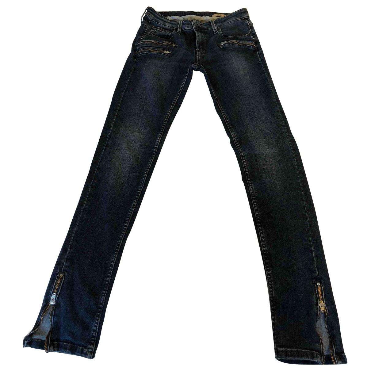 Reiko \N Blue Denim - Jeans Jeans for Women 36 FR