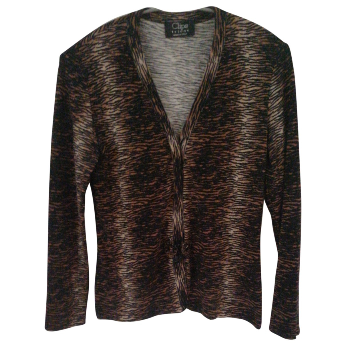 Non Signé / Unsigned \N Brown Knitwear for Women M International